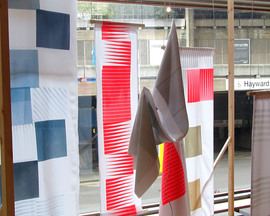 Demi Awosile's Acoustic Fabrics exhibition at Southbank Centre