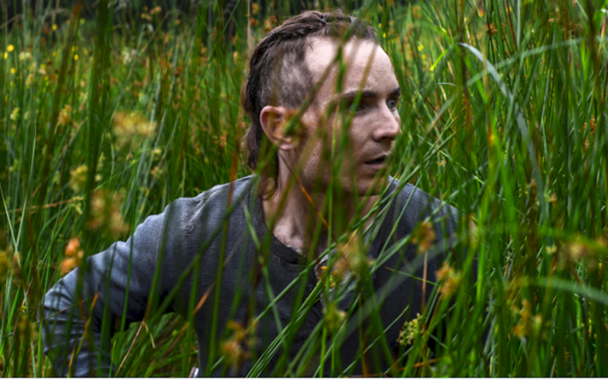 A still from Stephen Fingleton's feature film The Survivalist, screening at Galway Film Fleadh