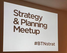Strategy & Planning Meetup - Brilliant Noise