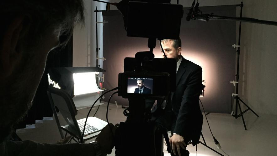 Juha's set visit to The Sprawl studio during Benjamin H. Bratton's interview