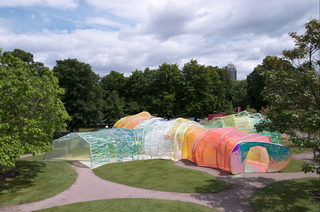 Serpentine Pavilion 2015 designed by selgascano (25 June - 18 October 2015). Photo © NAARO