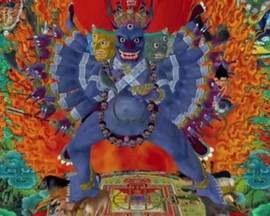 Wrathful King Kon by Lu-Yang
