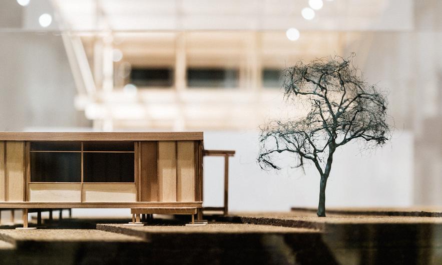 Walter's Way: The Self-Build Revolution. Exhibition Installation. Photo Taran Wilku