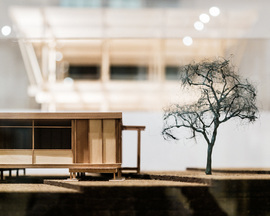 Walter's Way: The Self-Build Revolution. Exhibition Installation. Photo Taran Wilku