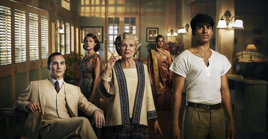 A still from Indian Summers, series 2. © Channel 4. Photographer: Ian Derry