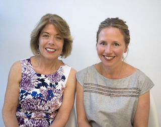 Hilary Ellis (left) and Lisa Westbury (right)