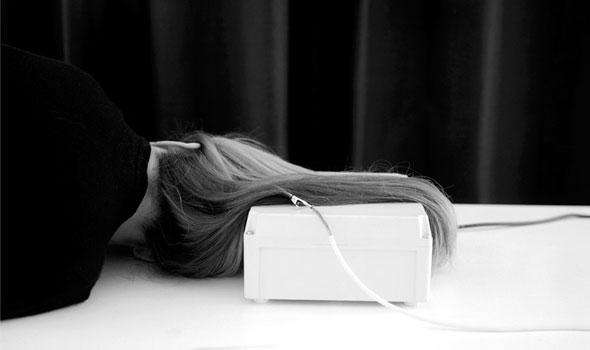 Kirlian Study - Hair - Clare Strand