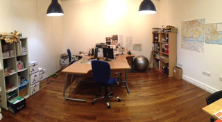 The office space available