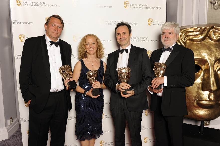 British Academy Television Craft Awards in 2010 held at the London Hilton Hotel. The award for best SOUND: FICTION, presented by Joanne Froggatt for WALLANDER (Paul Hamblin, Andre Schmidt, Catherine Hodgson and Bosse Persson) - BBC One/A Left Bank Picture
