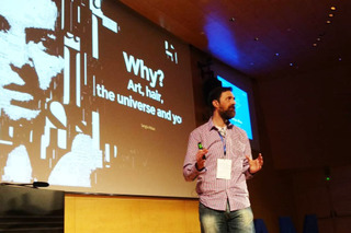 Sergio Albiac at IAM Weekend 2016