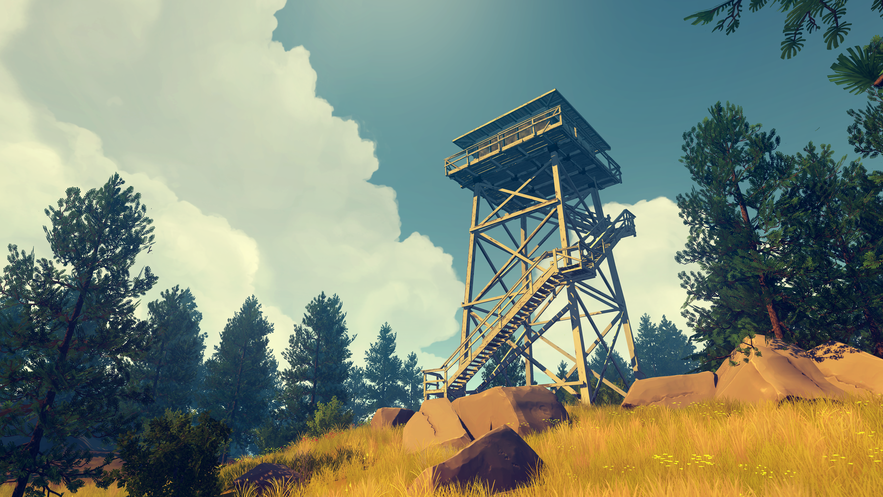 Still from Firewatch
