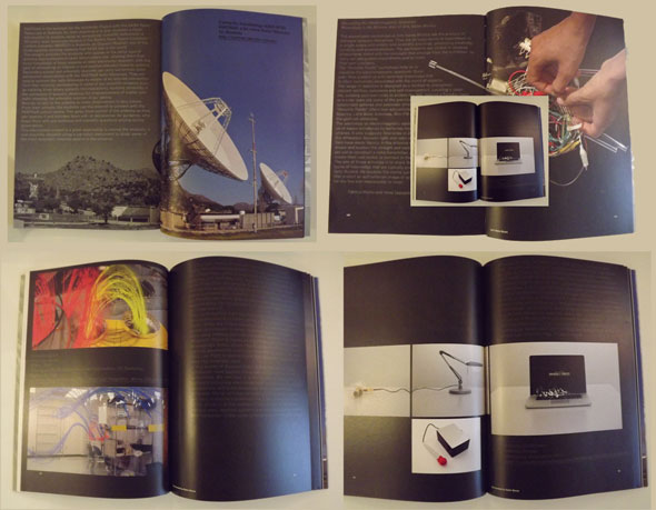Pages from the Invisible Fields Catalogue