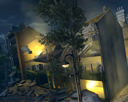 Bombed house in Lives at War game