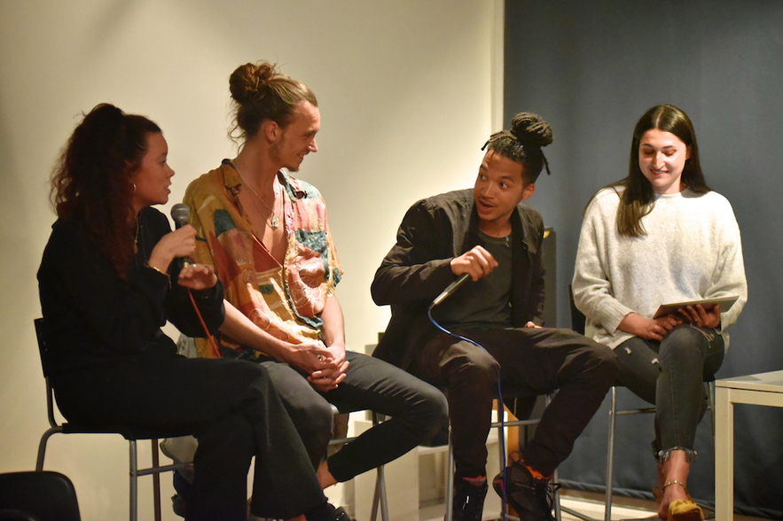 Panel Discussion from QM Records Presents. Photo: Anya Arnold