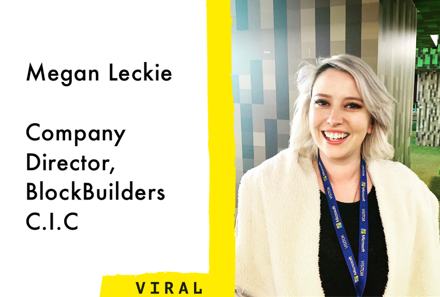 Megan Leckie, Company Director, BlockBuilders C.I.C