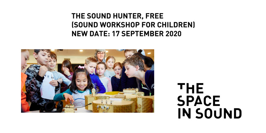 Sound Hunter workshop for kids