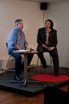 Jay Rayner in conversation with Michelin starred chef-patron Stephen Harris