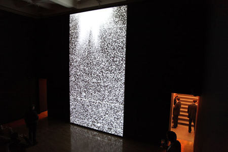 Black Rain by Semiconductor, installation view, Royal Academy 2010