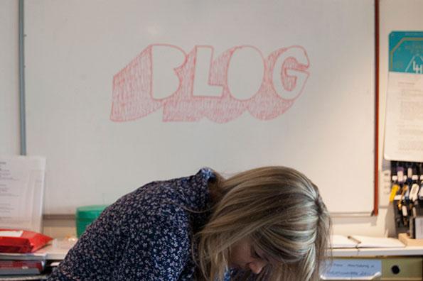Blog wall at Lighthouse