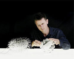 Luke Jerram, artist and speaker at Improving Reality 2011