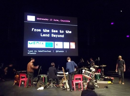 """From the Sea to the Land Beyond"" by Penny Woolcock with music by British Sea Power, live streamed from Sheffield Docfest on The Space. Jake Berger from The Space will be speaking at Lighthouse on 21 September."