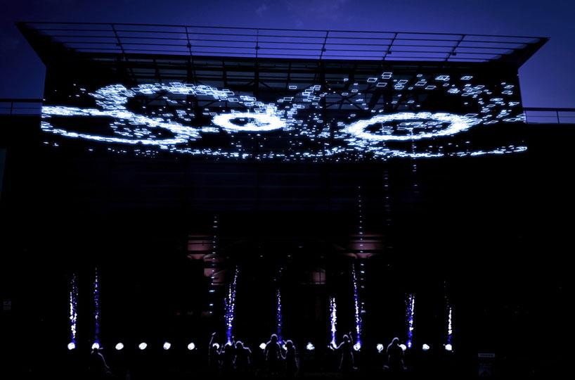 Pixel Pyros at Jubilee Square