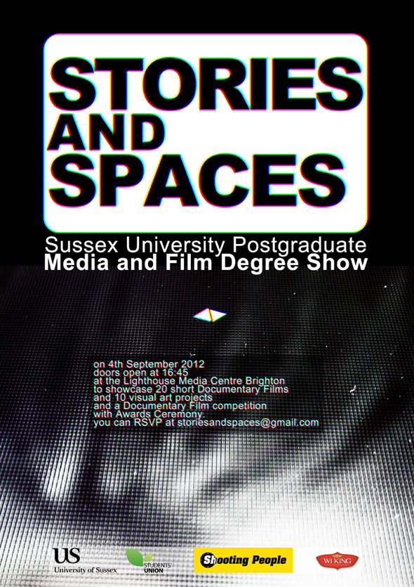 Poster for MA Degree Show
