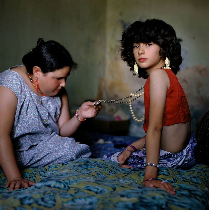 Images © Alessandra Sanguinetti/Magnum Photos.  ARGENTINA. Buenos Aires. 1999. The Necklace.