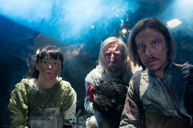 Orbit Ever After - Bronagh Gallagher, Bob Goody and Mackenzie Crook, photo by Angus Young