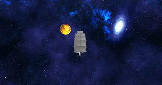 Anjin's ship in the Edo Wonderpark Universe