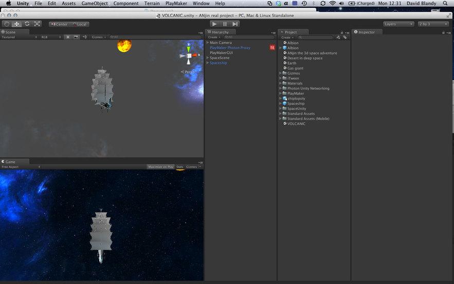 Screenshot of Anjin, the game