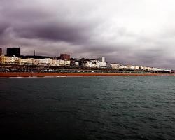 Brighton Coastline, Photograph (CC) Sarah Shemilt 2009