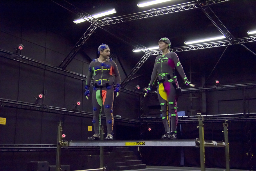 Motion Capture Lab, photo by Jonathan Hunt