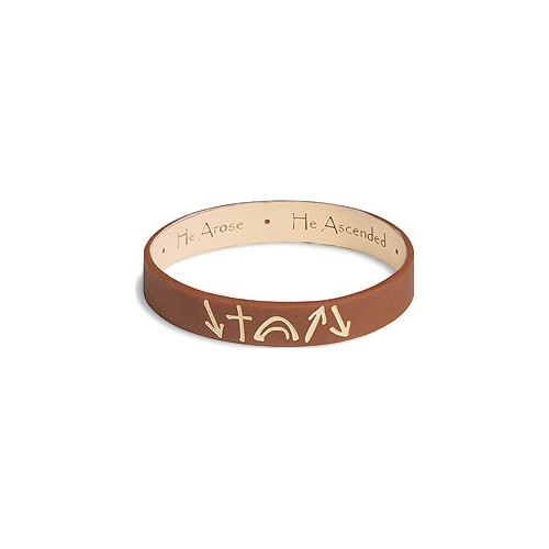 witness reversible christian silicone bracelet wrist band
