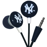 Photo of Officially Licensed MLB Printed Earbuds New York Yankees