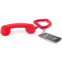 Photo of Echo Logico Soft Touch Retro Handset In Rouge
