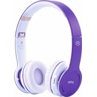 Photo of MiiKey Incorporated Rhythm Stereo Bluetooth Headset, Purple
