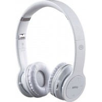 Photo of MiiKey Incorporated Rhythm Stereo Bluetooth Headset, White