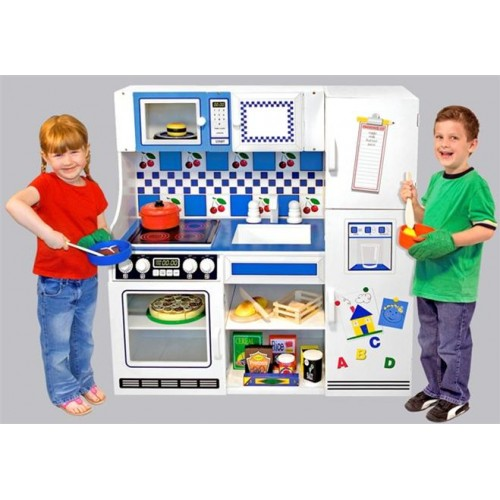 Melissa And Doug 2607 Deluxe Kitchen Play Center
