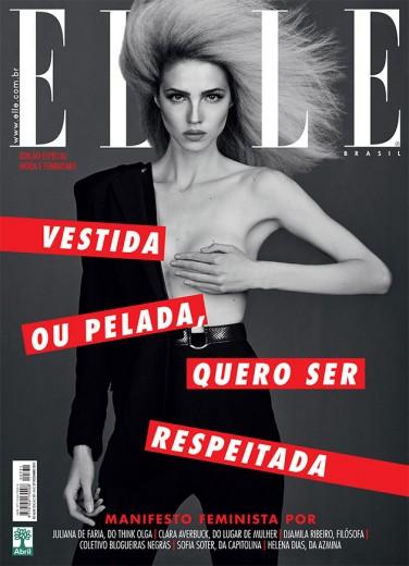 """Elle"" Brasil abraça o feminismo!"