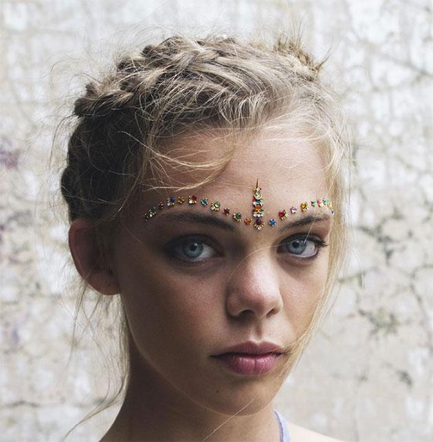 Resultado de imagem para maquiagem carnaval tumblr