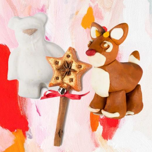 A Lush vem natalina e cheia de novidades pra tomar aquele banho especial: tem bomba de banho de manteiga de cacau em forma de ursinho (R$ 16,80), varinha mágica com pau de canela e espuma de banho brilhante (R$ 51,30) e rena do Papai Noel que é uma massinha de limpeza 4 em 1 - pra brincar, colocar na banheira, usar de xampu e até de sabonete!