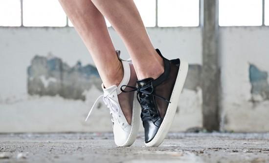 Conheça a Bang Footwear, marca de tênis feitos 100% à mão - olha só esse de tela (R$ 275), da nova coleção, em duas opções: branco ou preto. Clica pra conferir mais