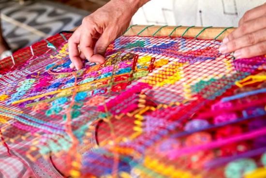 Agora o bordado filé está protegido de falsificações - o original é feito em Alagoas!