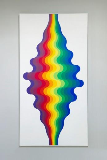 """Vem ver as obras do Julio Le Parc - é só clicar aqui! Essa é a """"Ondas"""""""