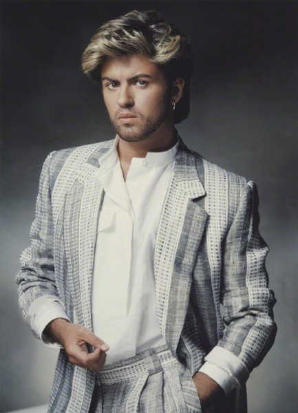 NPG x134779; George Michael by John Swannell