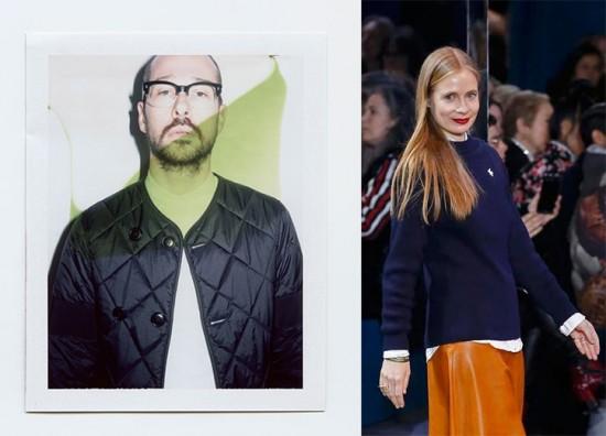 Luke e Lucie Meier - cotados pra vaga de estilista da Jil Sander