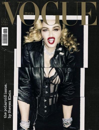 """Uma edição de peso: a última capa de Franca Sozzani na """"Vogue"""" Itália é com Madonna"""