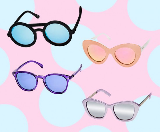 Os óculos da Le Specs a partir de R$ 100 cada no bazar da Acaju do Brasil - clica pra ver mais!