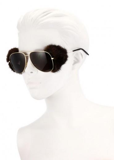 Pra deixar o Peta de cabelo em pé: o modelo Classic 11 Shields com pele de marta!